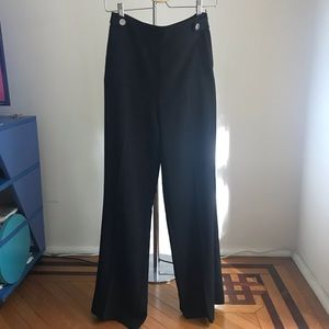 Wide-leg, High Rise Office Pant from H&M